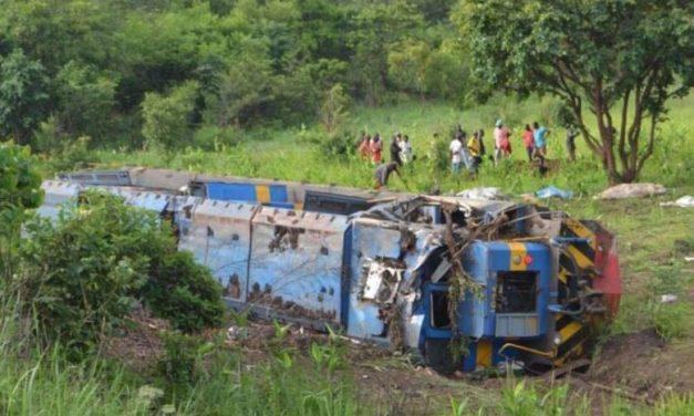 RD CONGO – 50 morts dans le déraillement d'un train
