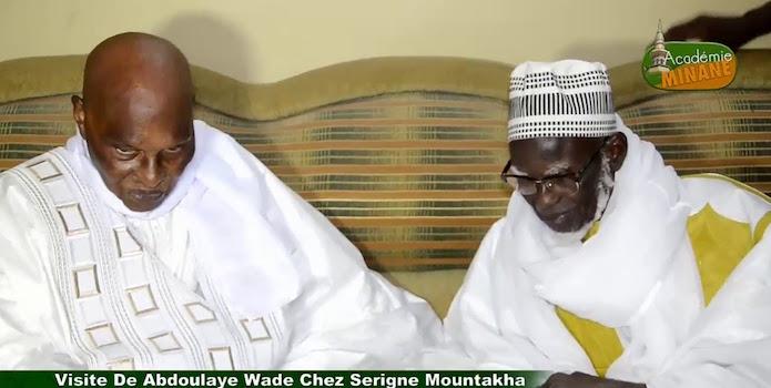 COLOBANE – Wade rend visite à Serigne Mountakha
