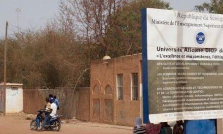 UNIVERSITE DE BAMBEY : Les étudiants en grève!