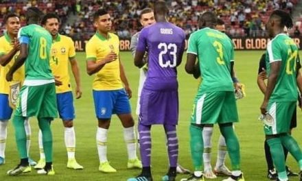 MATCH AMICAL : Les Lions ont titillé la bande à Neymar(1-1)