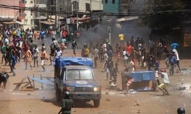 GUINÉE CONAKRY : 5 morts dans des manifestations contre un 3ème mandat