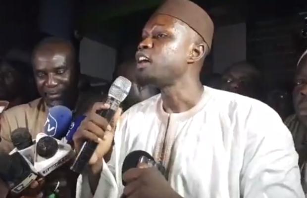 """Auditionné ce jeudi: Ousmane Sonko pense que """"la plénière n'a plus sa raison d'être"""""""