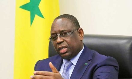 MACKY SALL  – Le temps des grandes manoeuvres