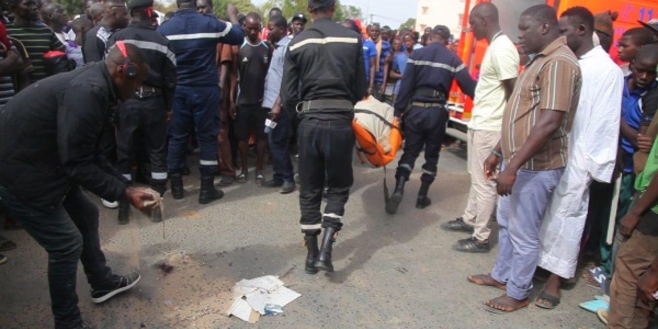Kaolack : 1 mort et 4 blessés après une collision entre une camionnette et un véhicule particulier