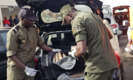 DROGUE SAISIE AU PORT  – Le couple allemand qui etait en Lp a quitte Dakar