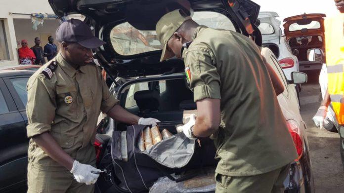 TRAFIC DE DROGUE : 43 kg de cocaïne d'une valeur de 3 milliards saisis par les Douanes