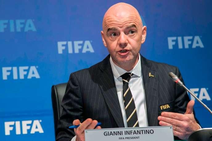 FIFA – ACTES RACISTES – Infantino veut une interdiction mondiale de stade