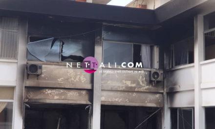 Audio – Images – Incendie au siège du Trésor: comment le feu a été circonscrit