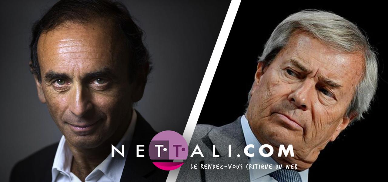 IDIOVISUEL - Zemmour au secours du soldat Bolloré ! | Nettali.com