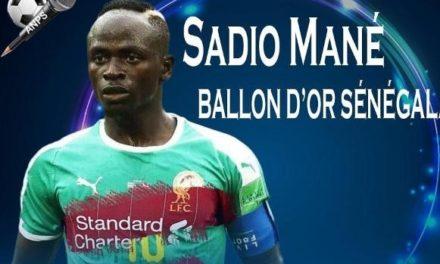 BALLON D'OR SENEGALAIS – Et de 6 pour Sadio Mané