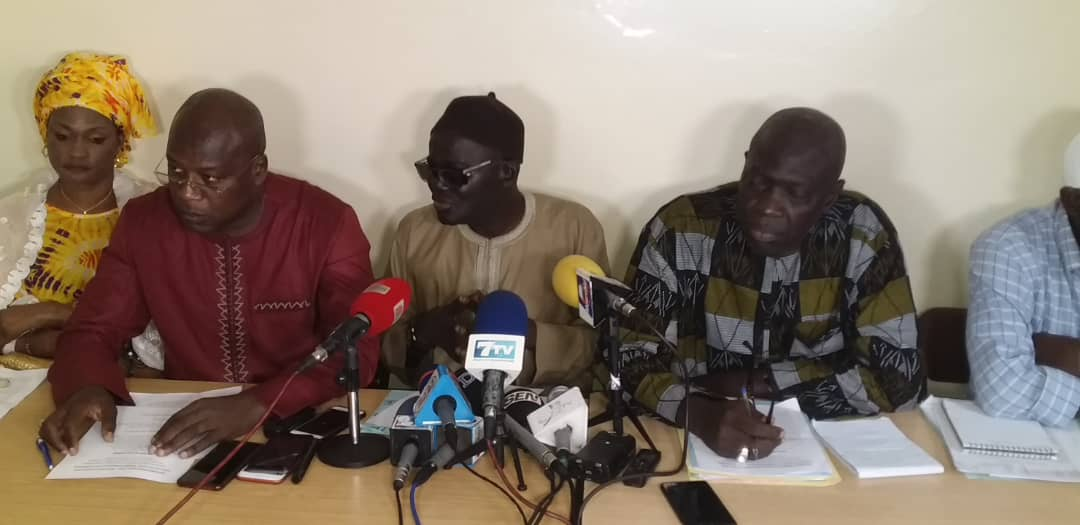 FONCTION PUBLIQUE – Sidya Ndiaye et cie brandissent un préavis de grève