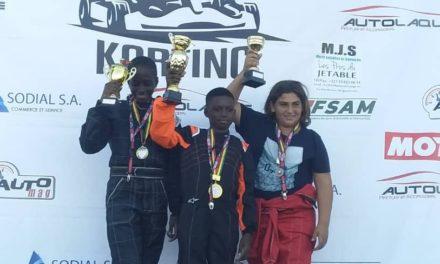 KARTING – Rahim Bah et Tess Sanchez remportent la 1ère course