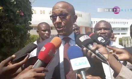 """Abdoul Mbaye après son audition : """"Le juge a tous les éléments attestant la violation de la loi"""""""