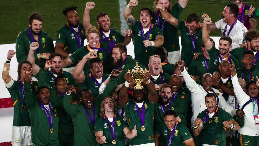 MONDIAL RUGBY : Et de 3 pour l'Afrique du Sud!