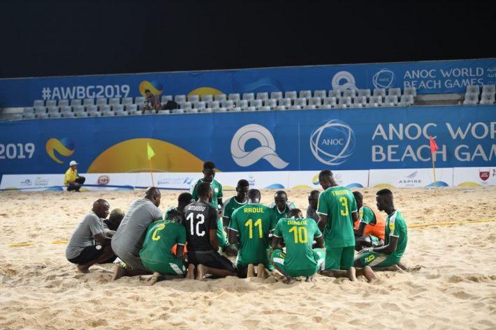 MONDIAL BEACH SOCCER – Les Lions s'arrêtent en quart