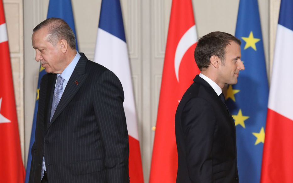 "MACRON ""INSULTE"" PAR ERDOGAN-La France convoque son ambassadeur en Turquie"