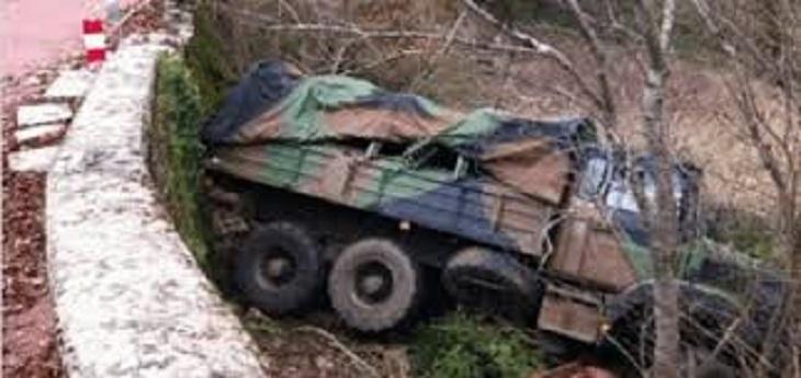 AXE LOUGA-LINGUERE : Un cargo militaire se renverse et fait plusieurs blessés