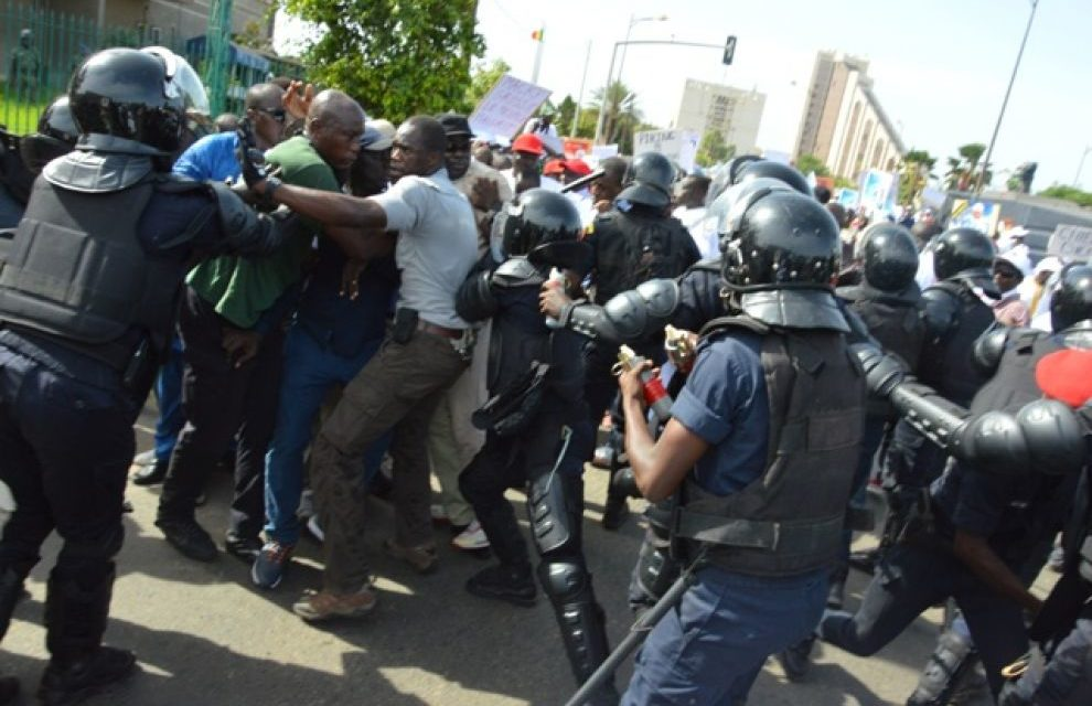 MANIFESTATION DE CE VENDREDI : 38 personnes arrêtées