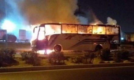 GRAND-YOFF – Deux bus de l'école Hyacinthe Thiandoum prennent feu