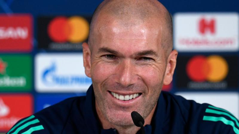 REAL Zidane heureux du retour d'Hazard