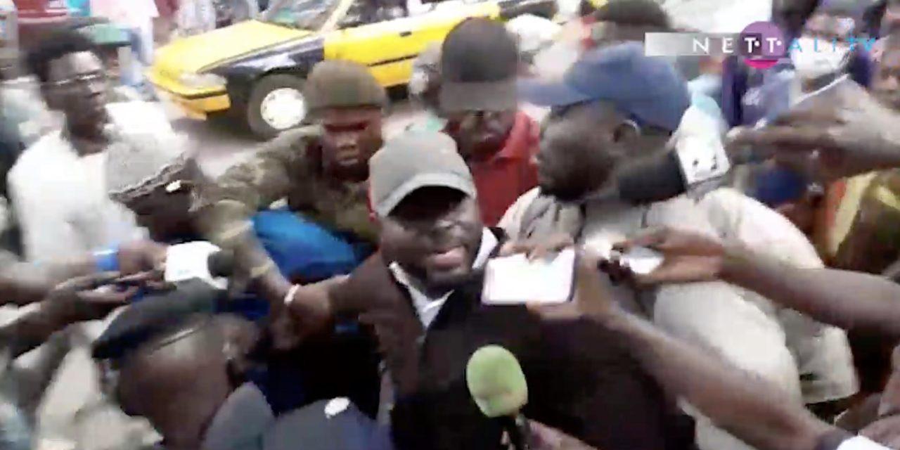Vidéo – Arrestation musclée de Thierno Bocoum et Aliou Sané