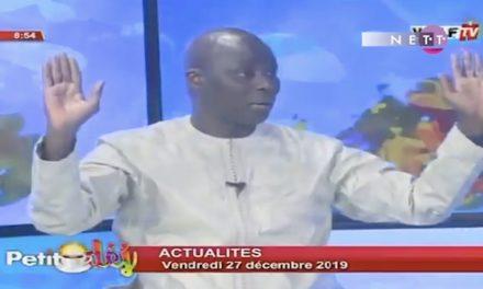 """Vidéo – Emission """"Petit Déj : Cheikh Tidiane Gomis critique Ousmane Sonko"""