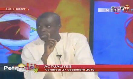 """Vidéo – Moustapha Diop sur la hausse du prix de l'électricité : """"C'est Macky Sall, le principal responsable…"""""""