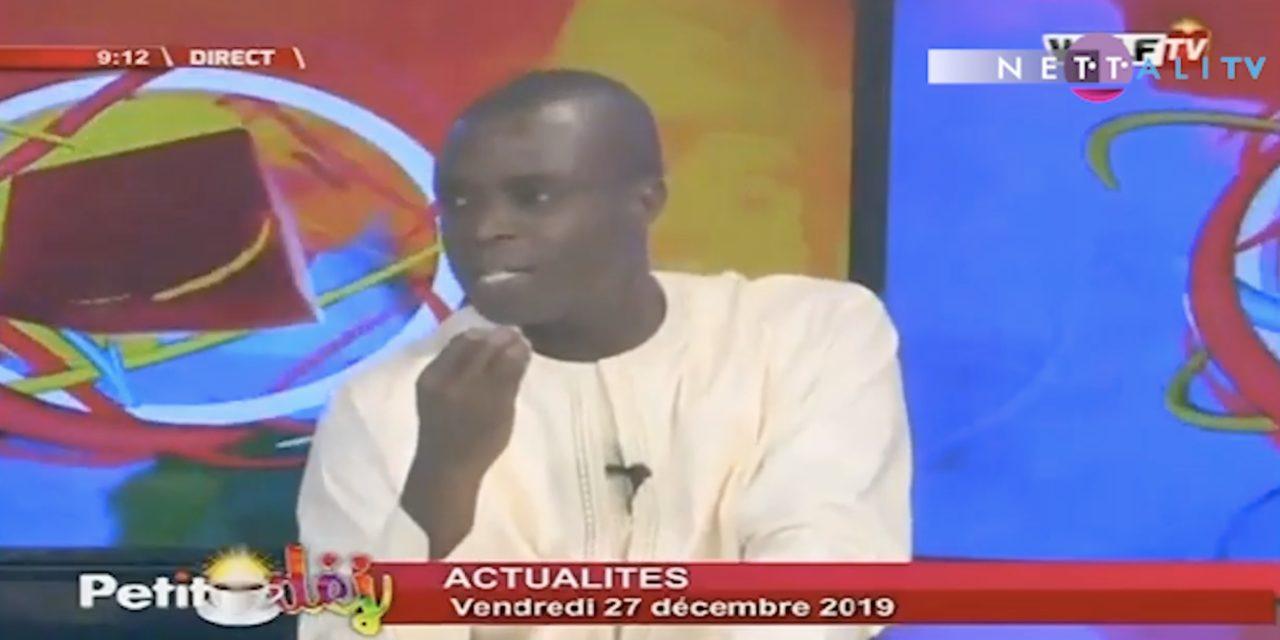 """Vidéo – Moustapha Diop sur la nébuleuse dans la distribution des semences : """"Macky Sall doit nous édifier…"""""""