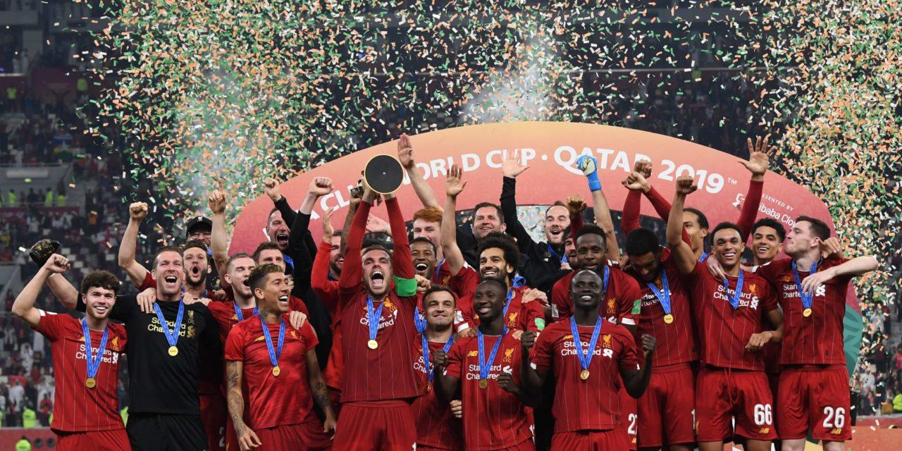 FOOTBALL  – Sadio Mané et Liverpool gagnent la coupe du monde des clubs