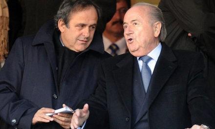 FIFA – Plainte contre Blater et Platini