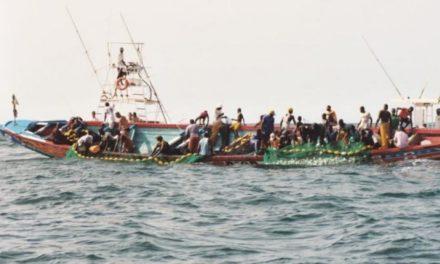 SAINT-LOUIS  –  2 pirogues chavirent, 7 pêcheurs repêchés, 1 porté disparu