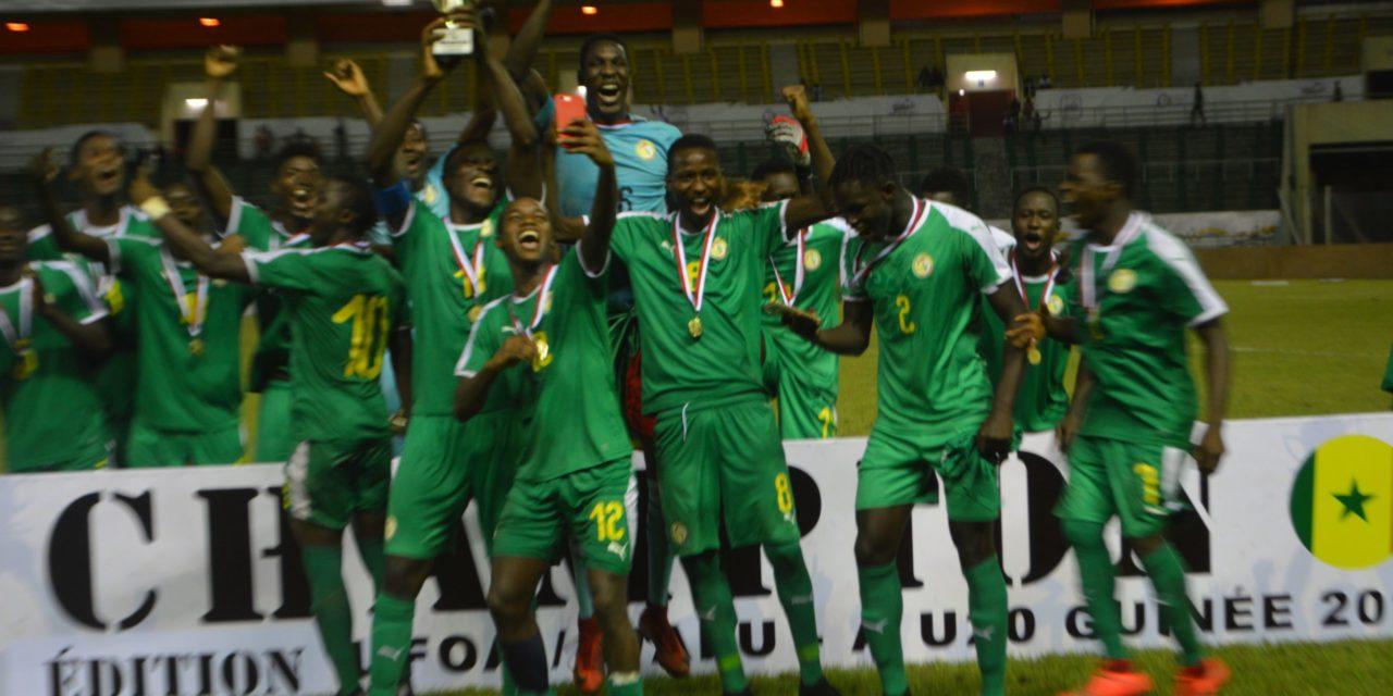 TOURNOI UFOA U20-Le Sénégal sacré champion