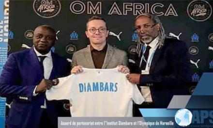 PARTENARIAT – Diambars signe avec l'OM