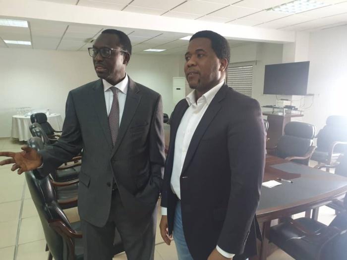 Babacar Diagne et Bougane Guèye Dani fument le calumet de la paix