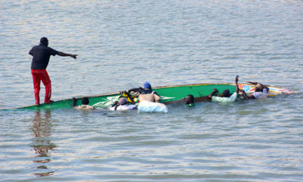 CHAVIREMENT D'UNE PIROGUE A ST-LOUIS : 2 pêcheurs disparus et 3 rescapés