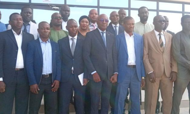 Les membres de la commission nationale de presse officiellement installés