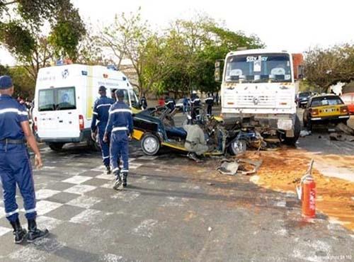 AXE DIOGO-FASS BOYE – 3 morts et plusieurs blessés dans un accident