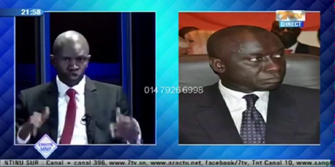 SILENCE DE IDY – Les vérités de son allié Babacar Diop