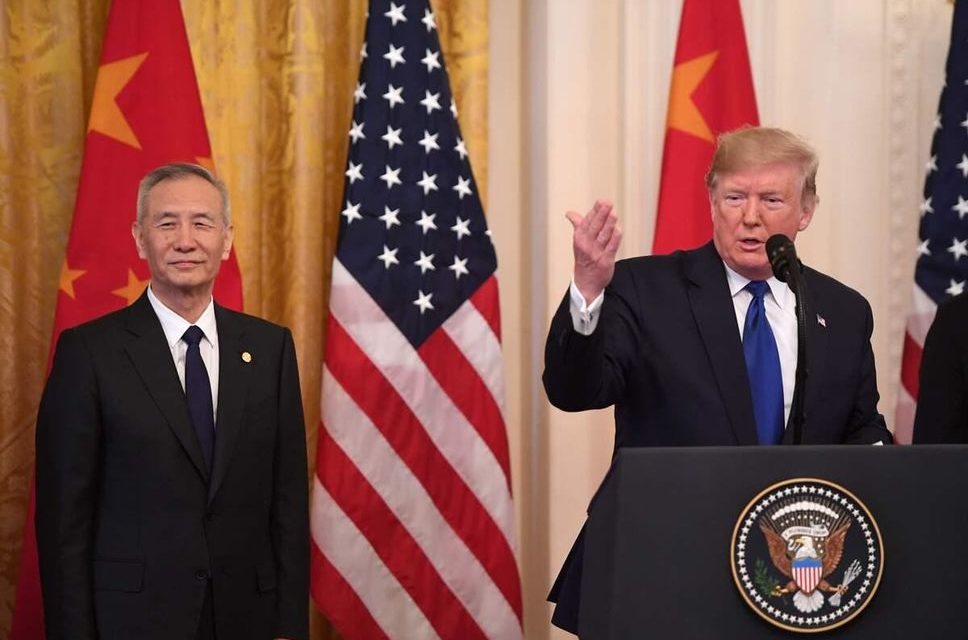 CHINE-USA – Signature d'un accord commercial «historique»