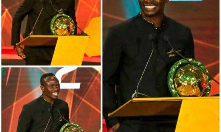 BALLON D'OR AFRICAIN – Sadio Mané détrône Salah