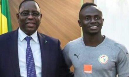 BALLON D'OR AFRICAIN – Macky Sall félicite Sadio Mané