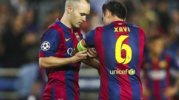 BARÇA – Iniesta se voit bien en duo avec Xavi