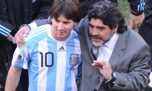 FOOTBALL – Maradona encense Messi