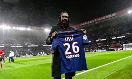 PSG – Aliou Cissé honoré au Parc des princes