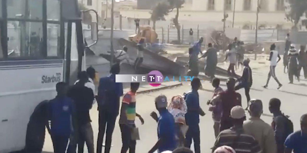 BILAN DES MANIFESTATIONS DE GUET NDAR: 17 arrestations, 15 policiers blessés, des millions partis en fumée