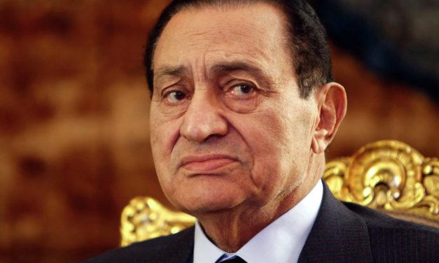 EGYPTE – Décès de l'ancien président Hosni Moubarak