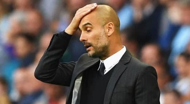MAN CITY – Guardiola frustré !