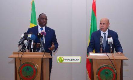 LUTTE CONTRE LE TERRORISME – Macky prône l'unité à Nouakchott