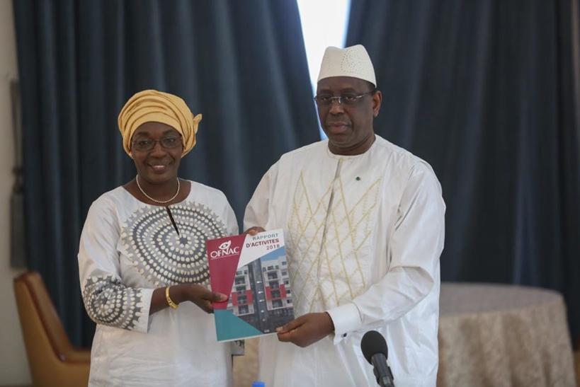 OFNAC –  Macky reçoit les rapports 2017 et 2018