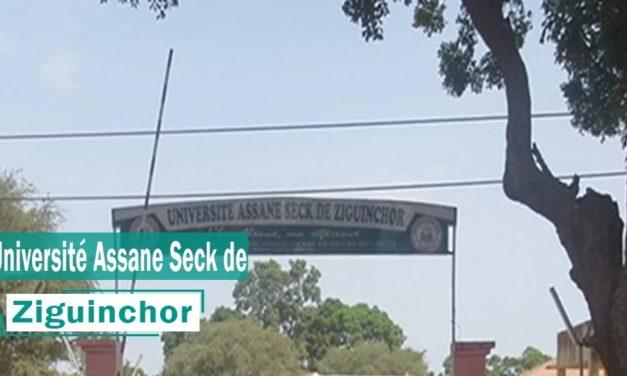 GREVE ILLIMITÉE – Les étudiants de l'université Assane Seck ferment la porte au recteur